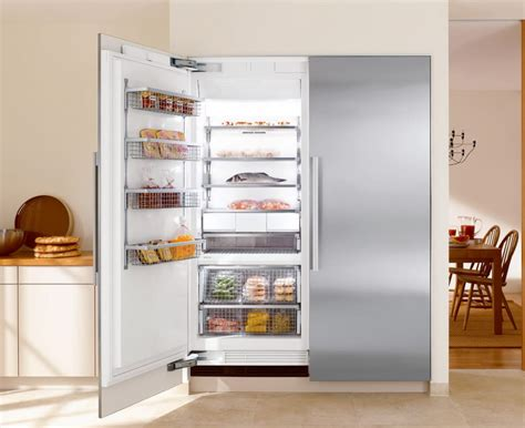 refrigerator kitchen cabinets miele f1813sf 30 inch built in freezer column with 1813