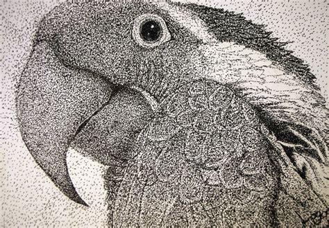 art   heart grade   stipple animals  art