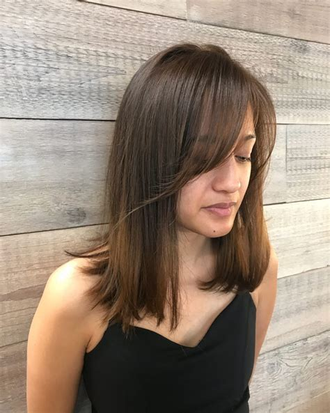 hair with side fringe styles side swept bangs 43 ideas that are in 2018 8441