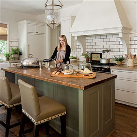 Large Butcher Block Island   Stylish & Functional Kitchen