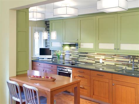 painting ideas for kitchen cabinets painting kitchen cabinet ideas pictures tips from hgtv