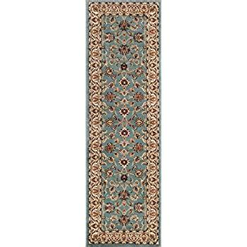 Amazon.com: Well Woven Noble Sarouk Light Blue Oriental