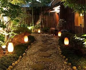 Eclairage Exterieur Jardin : clairage ext rieur led solaire et d coratif comme accent ~ Melissatoandfro.com Idées de Décoration