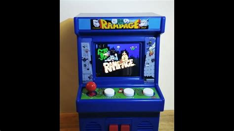 Rampage Basic Fun Mini Arcade Game Play And Commentary