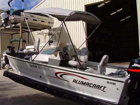 Bimini Top Alumacraft Boat by 05 Alumacraft 16 5 Ltd Cs Boat For Sale