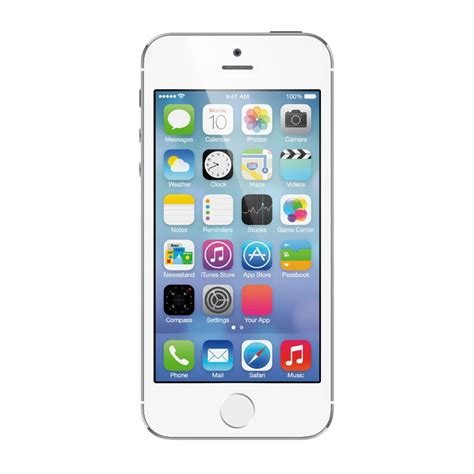 iphone lte apple iphone 5s a1453 16gb silver ios 4g lte smartphone