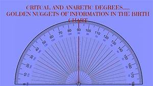 Find Your Birth Chart Critical And Anaretic Degrees In A Birth Chart Golden