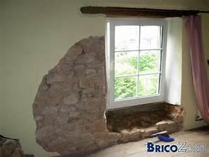 Comment Isoler Un Mur En Pierre Humide : mur en pierre humide sous fenetre ~ Premium-room.com Idées de Décoration
