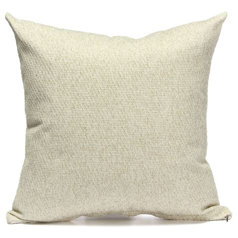 Simple Cotton Linen Throw Waist Pillow Case Sofa Car