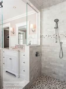bathroom walk in shower no door ideas With walk in shower no door