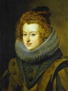 Infanta Maria - Diego Velazquez Painting
