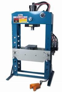 Baileigh HSP-100A Pneumatic 100 Ton Shop Press