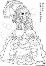Coloring Anime Manga Adults Kawaii Force Glitter Adult Printable Colouring Princess 1000 Umbrela Chibi Shojo Getdrawings Drawing Japanese Photobucket Web sketch template