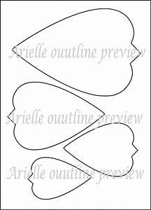 Diy giant paper flower printable templates flower template for Giant paper flower template pdf