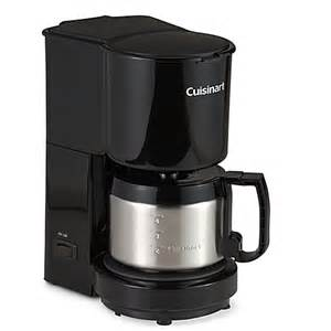cuisinart 174 4 cup coffee maker with stainless steel carafe