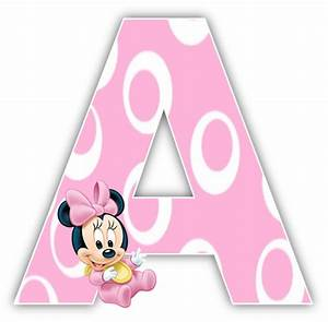 baby minnie mouse 1st birthday party alphabet numbers With minnie mouse alphabet letters