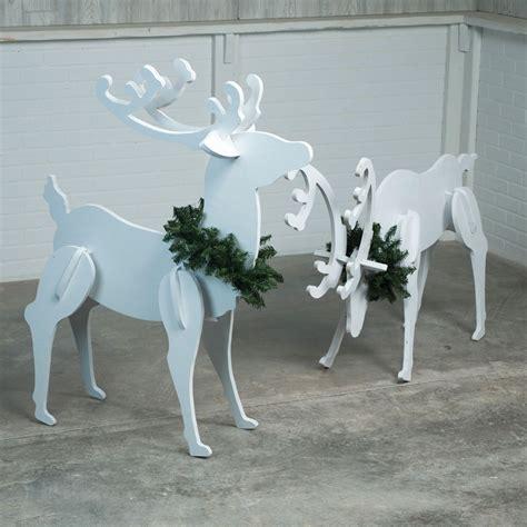 plywood reindeer  family handyman