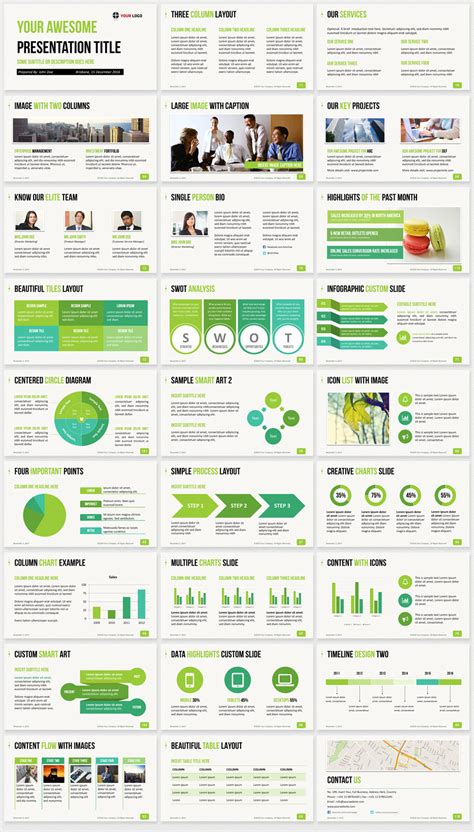 ultimate professional business powerpoint template
