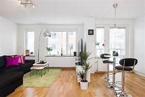 85 small apartment design ideas 2017 roundpulse for Open plan studio apartment design