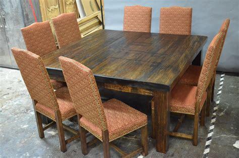 table de cuisine 8 places meubles de salle à manger table de bois massif faites