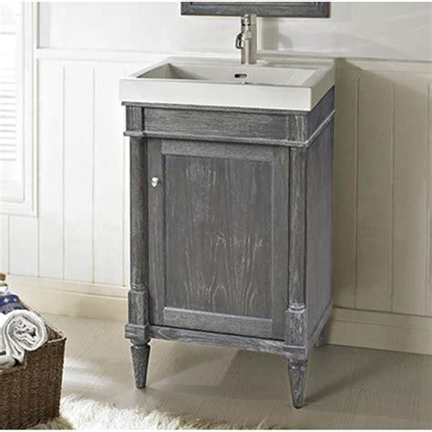 "Fairmont Designs Rustic Chic 21"" Vanity   Silvered Oak"