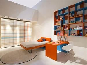 Bibliothèque Murale Design : 30 chambres d 39 enfants contemporaines transformables ~ Teatrodelosmanantiales.com Idées de Décoration