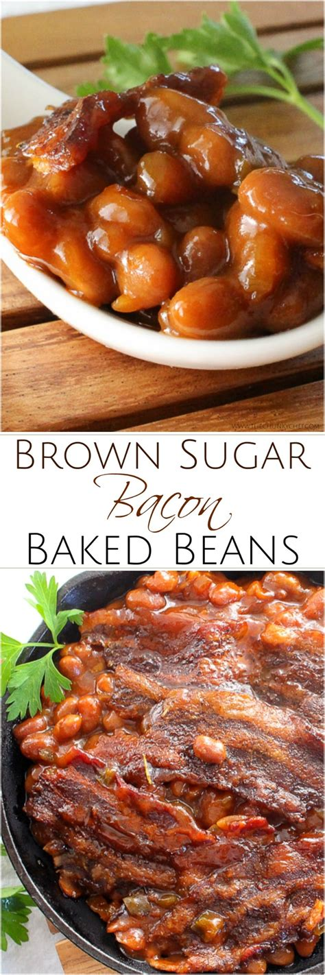 baked bean recipe  canned beans brown sugar
