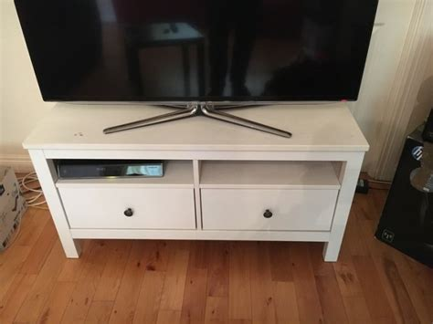 White Ikea Tv Stand With Drawers For Sale In Malahide, Dublin From Javamad Closet Drawers Units Kitchen Aid Warming Drawer Bottom Repair Entry Hall Table With Cutlery Divider For Antique Nickel Pulls Twin Bed Plans Desk Organiser
