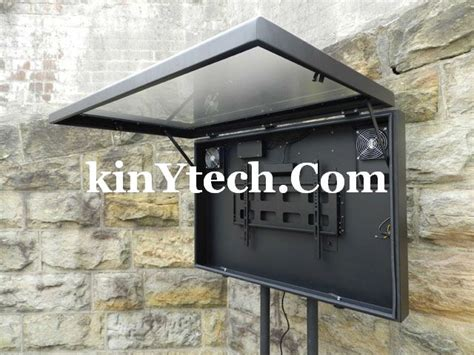 enclosure weatherproof cabinet enclosures kinytech behuizing utomhus waterproof interior industrial computer case stand implausible guardian lcd company fabrikant building aire