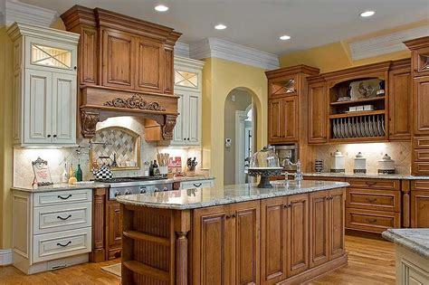 mixed wood kitchen cabinets dixoncabinetry livinator 7544