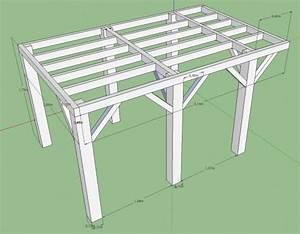 plan pour terrasse en bois sur pilotis images projets a With plan d une terrasse en bois sur pilotis