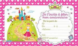 Invitation Anniversaire Fille 9 Ans : invitation anniversaire fille gratuite imprimer 9 ans ~ Melissatoandfro.com Idées de Décoration