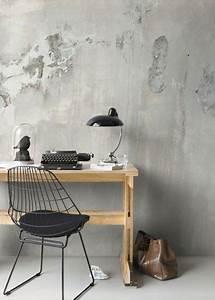 Tapeten Beton Design : die besten 25 tapeten ideen auf pinterest garagen b ro aufkleber erstellen und schlafzimmer ~ Sanjose-hotels-ca.com Haus und Dekorationen