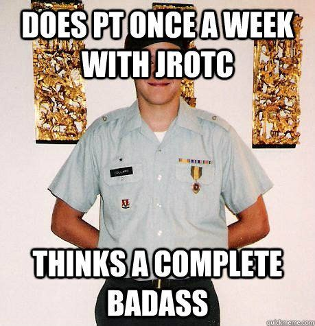 Jrotc Memes - 35 best rotc images on pinterest military armies and army