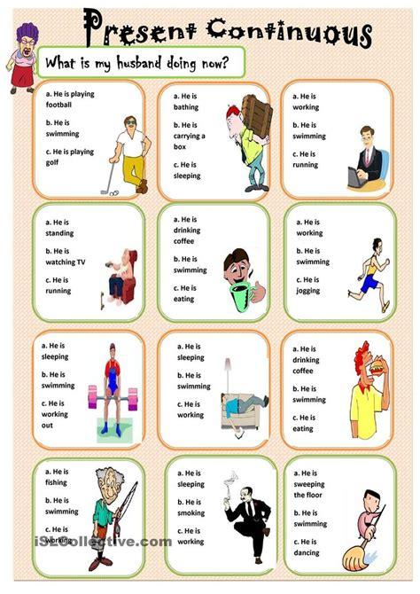 present continuous aulas de ingles  criancas ingles