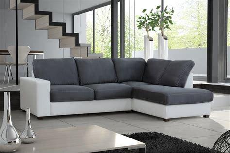 canapé d angle gris pas cher photos canapé d 39 angle gris et blanc pas cher