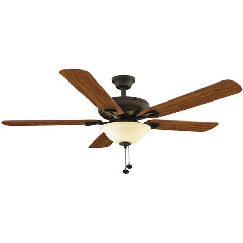 home elegance ceiling fan 52 casablanca piston 52 in led indoor outdoor matte black