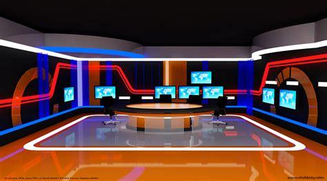 tv set interior design tv set design project and construct on behance