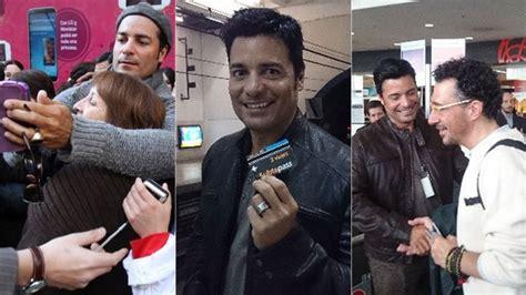 Chayanne Sorprendió A Sus Fans Argentinos En El Subte, El