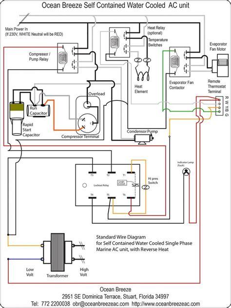 Wiring Aac Condensing Unit by Split Ac Outdoor Wiring Diagram Wiring Diagram
