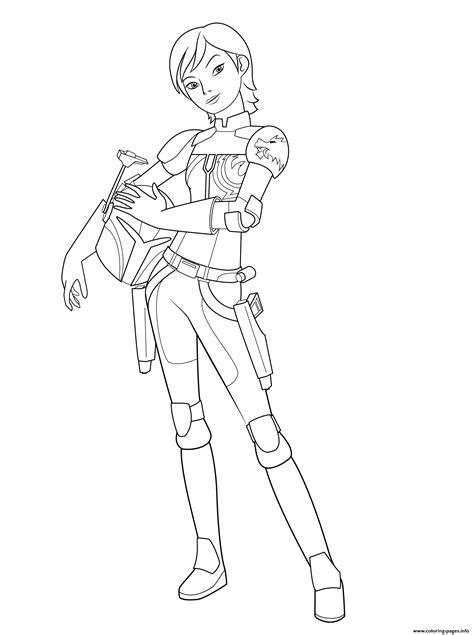 star wars rebel sabine wrens coloring pages printable