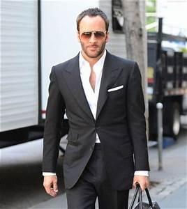 Tom Ford. Black suit, no tie. | Dress code | Pinterest ...