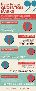 How to Use Quot... Quotation Marks Quotes