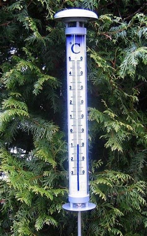 Solargartenthermometer Solino Tfa 122057 Beleuchtet Groß