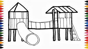 Colours For Kids Playground Coloring Pages How To Color ...