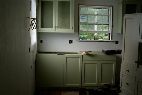Farrow And Cupboard Paint by Farrow Cooking Apple Green Painted Cabinets