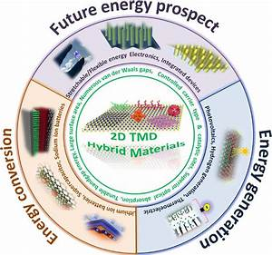 Schematic Illustration Of 2d Tmd Hybrid Materials For
