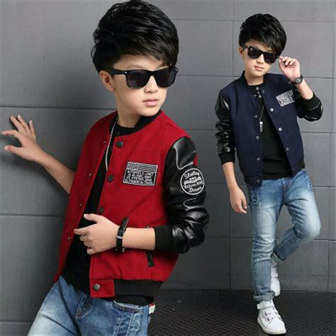 jual jaket blazer korea kulit anak laki keren import