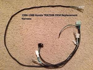 1986-1988 Honda Trx250r Wire Harness