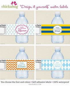 17 best images about diy event decor on pinterest diy With create water bottle labels